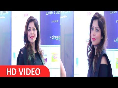 Kanika Kapoor At Star Studded Red Carpet Opening Celebration Of Joya,An Exhibition