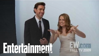 The Office': John Krasinski & Jenna Fischer Tease Jim & Pam's Wedding | Entertainment Weekly