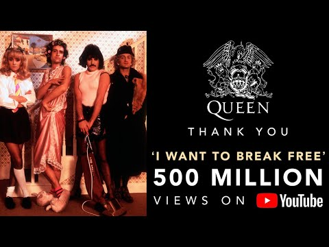 Freddie Mercury (Queen): I Want To Break Free (Offi ...