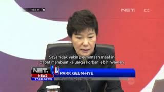 Video NET17 - Presiden Korea Selatan meminta maaf pada rakyatnya atas tragedi Kapal Sewol MP3, 3GP, MP4, WEBM, AVI, FLV Februari 2018