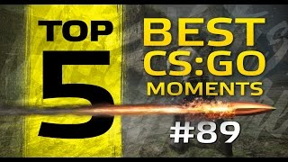 TOP5 Best CSGO Moments #89