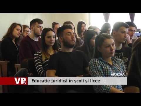Educație juridică în școli și licee