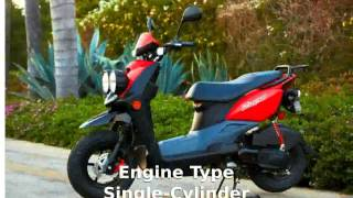3. 2013 Yamaha Zuma 50F -  Top Speed Info Details Features Specification Transmission motorbike