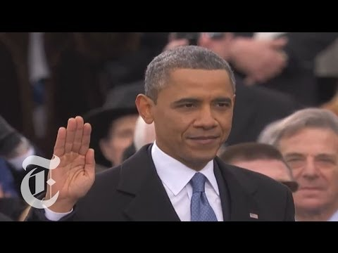 President Obama Flubs The Oath (VIDEO)