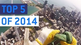 Top 5 Most Insane POV Videos Of 2014 || JukinVideo Top Five