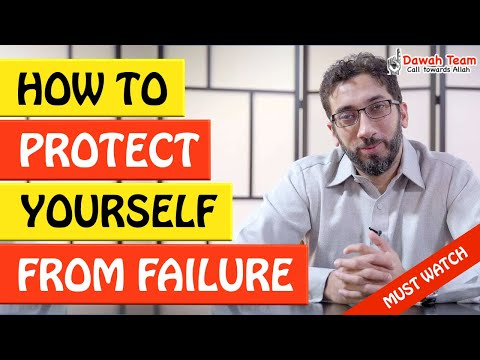 🚨HOW TO PROTECT YOURSELF FROM FAILURE🤔 - Nouman Ali Khan