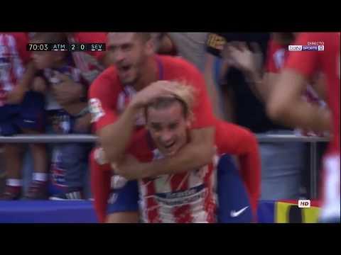 Atletico Madrid vs Sevilla 2 0   All Goals & Extended Highlights 23 09 2017 HD