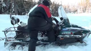 7. Yamaha Viking VK540 Cold sart minus 26