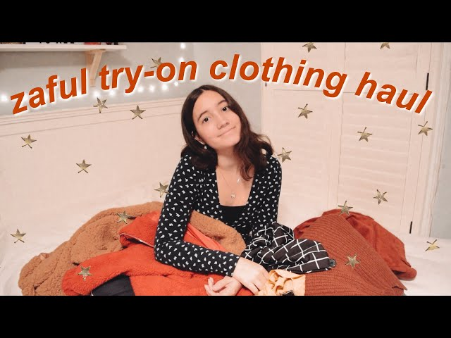 Zaful Winter Try-On Clothing Haul/Review!
