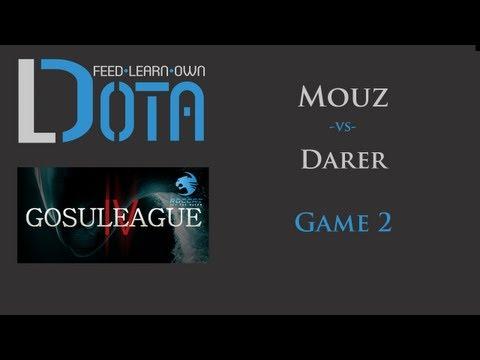 Darer vs mouz GosuLeague - Game 2