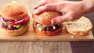 Le vrai hamburger américain