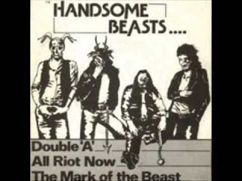 The Handsome Beasts - All Riot Now online metal music video by THE HANDSOME BEASTS
