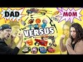foto Mom vs. Dad! The Ultimate Toys/Game Battle Challenge! NERF, ANKI Overdrive, K'Nex, Avengers + more Borwap