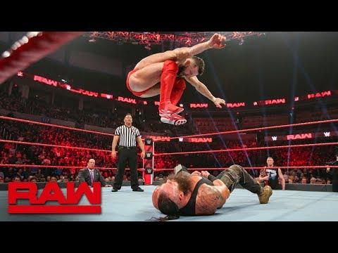 Finn Bálor vs. Braun Strowman: Raw, Jan. 21, 2019