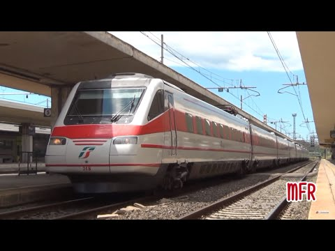 ETR 460 24: ULTIMO PENDOLINO in livrea d'origine in viaggio tra ROMA TERMINI e GENOVA P. PRINCIPE.