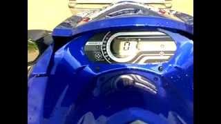 8. Yamaha VXR 2012' Revving
