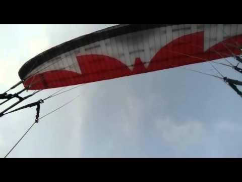 Vôo em itaguai - RJ estampando o céu