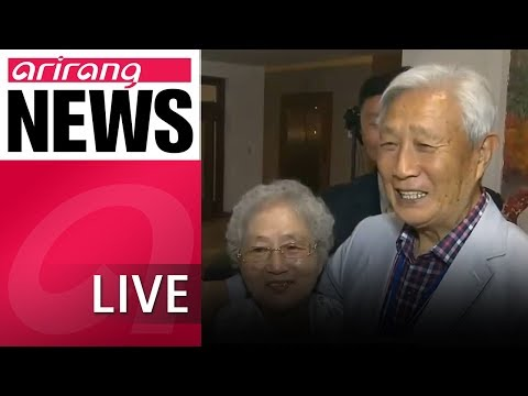 [LIVE/NEWSCENTER] Tearful Scenes As Families From South And North Korea Reunite - 2018.08.20
