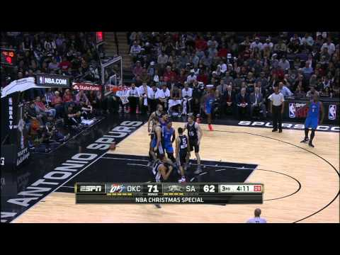 Video: Russell Westbrook's 34-Point Performance Tops Spurs
