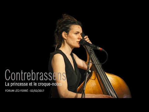 Contrebrassens - La princesse et le croque-notes