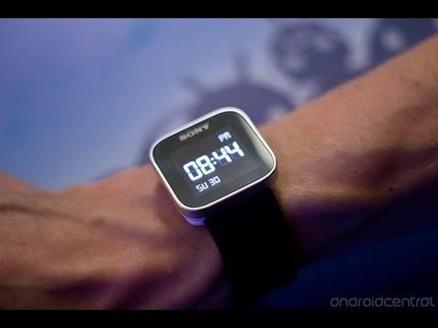 Sony Smart Watch 索尼智慧型手錶~開箱影片