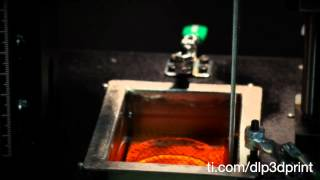 3-D Printing A Pumpkin With TI DLP® Technology