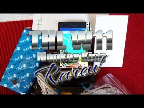 THL W11 Monkey King Review -  MT6589T Quad-core @1.5GHz -- FULL HD - Antelife.com -- ColonelZap