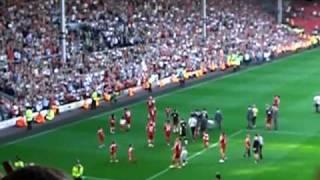 Liverpool-Fans feiern Sami Hyypiä