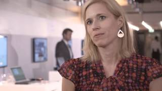Interview mit der Gründering von ReTravel, Svenja Gossing, auf dem Investment Dialog 2015 der DZ BANK.