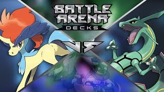 Pokémon Cards - Keldeo vs Rayquaza Battle Arena Decks Opening & Review! by The Pokémon Evolutionaries