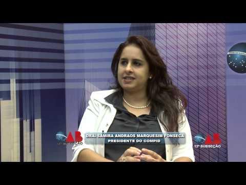 OAB NA TV On Line Samira Andraos Marquezin Fonseca sobre o direito das crianças com deficiência na rede de ensino