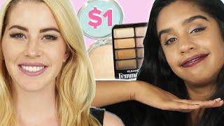 Women Try $1 Makeup