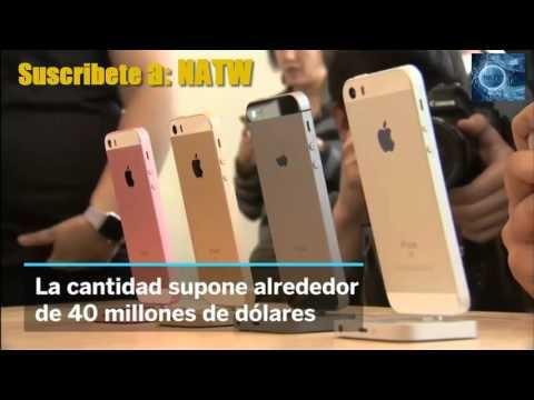 Apple recupera una tonelada de oro de los iPhones e iPads reciclados en 2015
