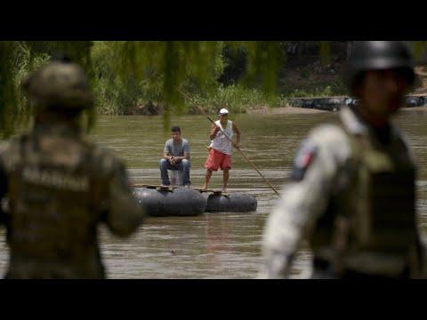 Mexiko: Nach Trump-Drohung stoppen Soldaten Migranten