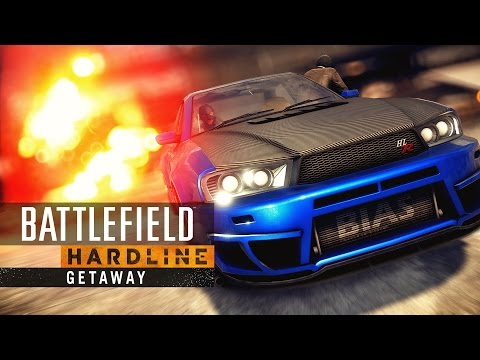 Battlefield Hardline – Getaway DLC – HD Cinematic Trailer
