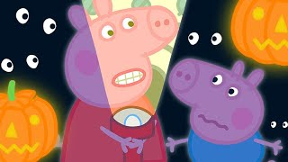 Peppa Pig Official Channel 🎃 The Spooky Night - Power Cut    Halloween Special 🎃