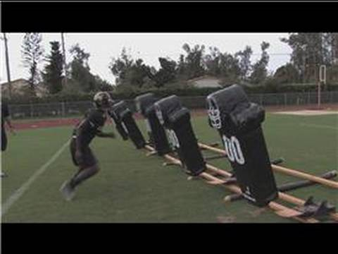 how to be better at football - In order to become a better football linebacker, it's important to work on the movement of the hands and feet. Discover why a linebacker must have great run ...