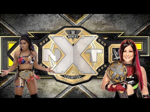 WWE NXT (2017) Women's Championship unboxing