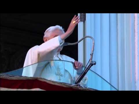 Raw: Pope Benedict Bids Goodbye