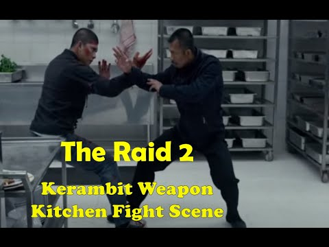 The Raid 2 - (Kerambit Weapon Scene)  Iko Uwais VS Cecep Arif Rahman