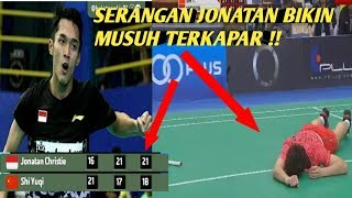 Video Aksi Jonatan Bikin SHI Yuqi Terkapar Di Final Badminton Asia Team Championship 2018 MP3, 3GP, MP4, WEBM, AVI, FLV Februari 2018