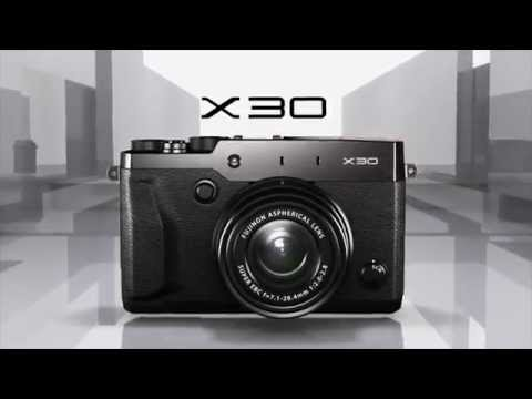 FUJIFILM X30 Promotional Video