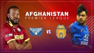 APLT20 2018 M14: Balkh Legends v Kabul Zwanan Live Stream, Afghanistan Premier League T20