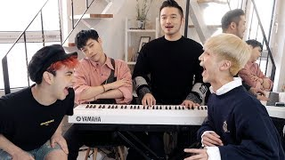 Video Guessing boy group kpop songs on the piano this time lol - Edward Avila MP3, 3GP, MP4, WEBM, AVI, FLV Maret 2019