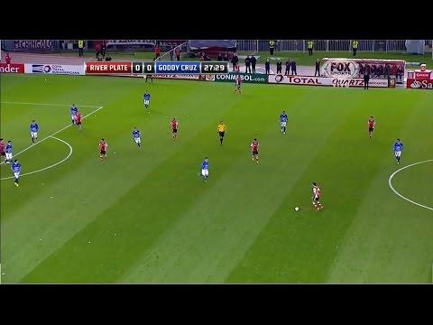 cruz - Copa Sudamericana. Segunda fase, vuelta. River Plate (ARG) 2 - 0 Godoy Cruz (ARG). Goles: 1-0, m.29: Rodrigo Mora. 2-0, m.32: Rodrigo Mora. -Etiquetas River vs Godoy Cruz, River vs Godoy...