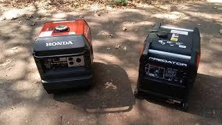 10. Honda EU3000is VS Predator 3500 Inverter