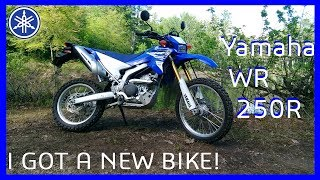9. Yamaha WR250R Reveal & Ride | My NEW BIKE!