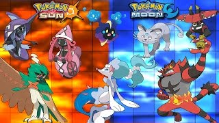 STARTER EVOLUTIONS! DECIDUEYE, INCINEROAR, PRIMARINA! NEW GUARDIANS! COSMOG! POKEMON SUN AND MOON! by PokeaimMD