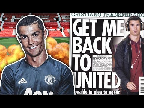 Video: Has Cristiano Ronaldo Revealed His Desire To Return To Manchester United?!   W&L