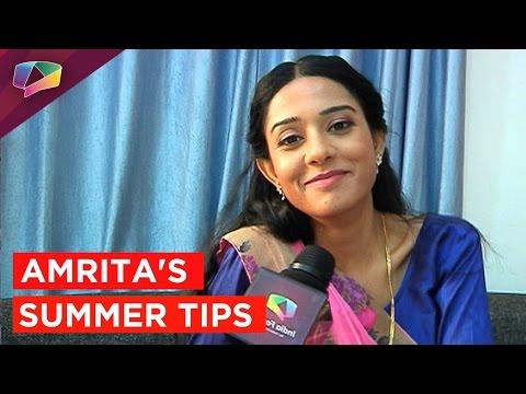 Amrita Rao shares her summer tips